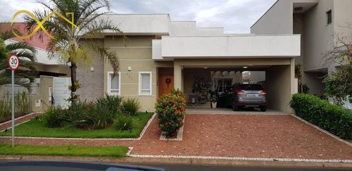Casa Com 3 Dormitórios À Venda, 260 M² Por R$ 1.450.000,00 - Condomínio Athenas - Paulínia/sp - Ca2054