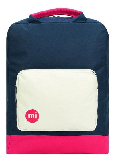 Mochila Portanotebook Mi-pac Decon Tote Blue Black / Red