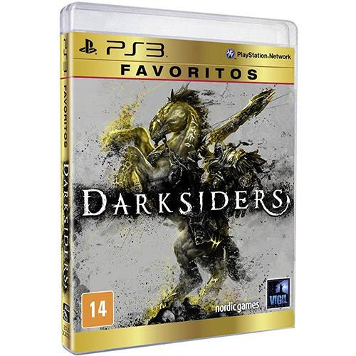 Darksiders Favoritos Ps3 Mídia Física Lacrado Rcr Games