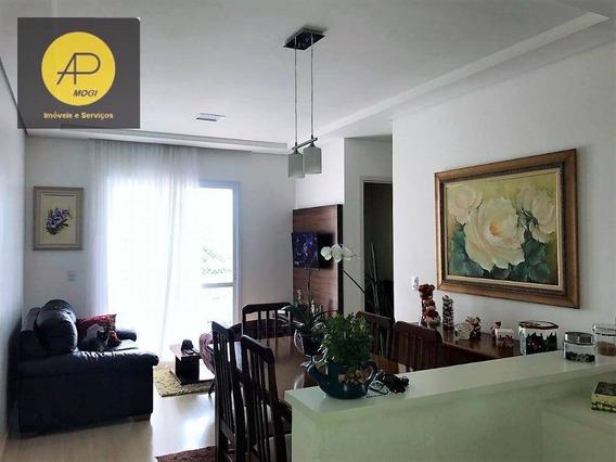 Apartamento Com 2 Dormitórios À Venda, 63 M² - Vila Suissa - Mogi Das Cruzes/sp - Ap0189
