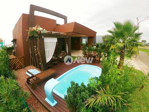 Imagem 1 de 11 de Casa Com 3 Dormitórios À Venda, 167 M² Por R$ 980.000,00 - Zona Nova - Capão Da Canoa/rs - Ca3067