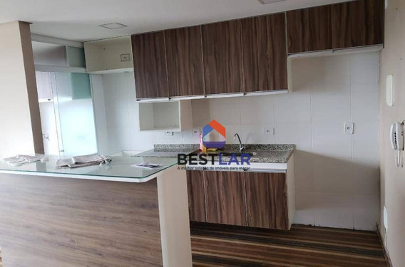 Apartamento Com 3 Dormitórios Para Alugar, 61 M² Por R$ 2.198/mês - Jardim Marilu - Carapicuíba/sp - Ap8399