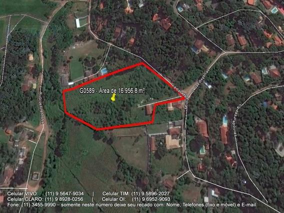 Terreno Para Venda, 16956.8 M2, Jardim Colibri - Embu Das Artes - 589