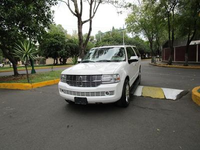Lincoln Navigator 2010 4x4 Piel Dvd Quemacocos Con 82 Mil Km