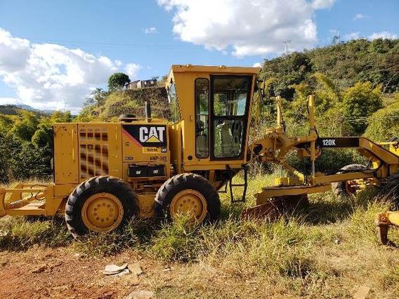 Motoniveladora Caterpillar 120 K Ano 2013 Estado De Zero !