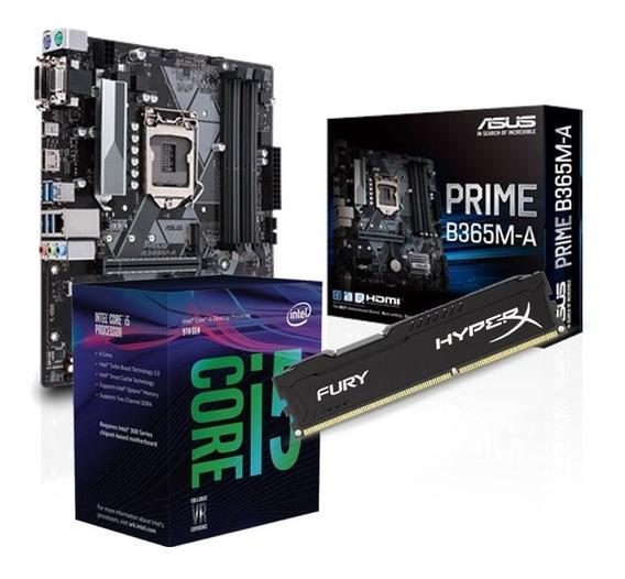 Combo Actualizacion Pc Intel I5 9400f B365 Prime Hyperx 8gb