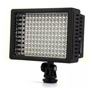 Luz Foco 160 Led Ld160 Para Fotografía Y Video + 3 Filtros