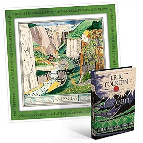 O Hobbit J. R. R. Tolkien Livro Capa Dura + Poster
