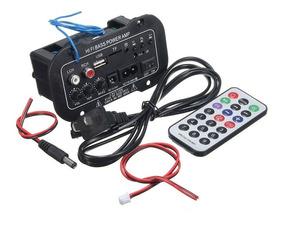 Decodificador Amplificado 50w Usb Bluetooth 110-220v 12-24v