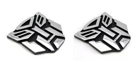 Kit C/2 Transformers Emblema Tuning Autobots / Decepticons