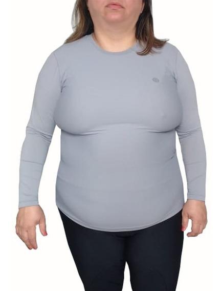 Camisa Feminina Tamanhos Especiais Proteção Solar Uv 50+