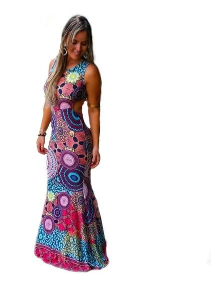 Vestido Longo Sereia Verao