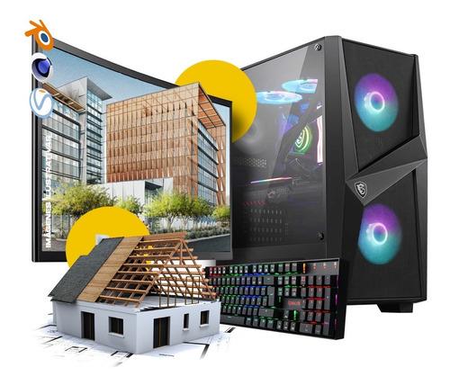 Pc Diseño Profesional I9 32gb M.2 Nvme Nvidia Quadro P2000