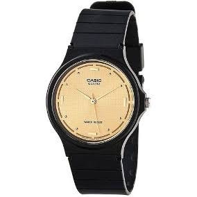 Lote 5 Relojes Casio Análogo De Manecillas Carátula Dorada