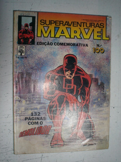 Superaventuras Marvel Nº100 Gibi Hq Ed Abril Dc Demolidor