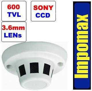 Impomax Camara Espia Detector Humo Sony Vigilancia Seguridad