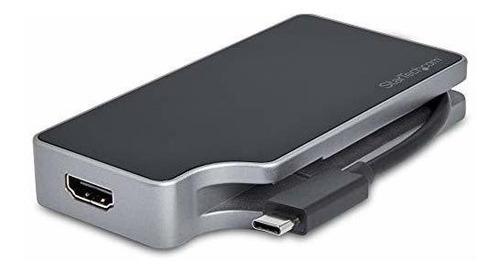 Startech Usb C Multiport Video Adapter 4-in-1-95w