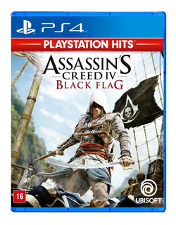 Assassins Creed Iv. Black Flag Mídia Física Ps4 Rcr Games
