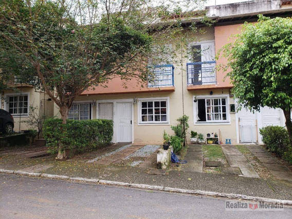 Casa 02 Dormitórios - Condomínio Fechado - Granja Viana - Ca1177