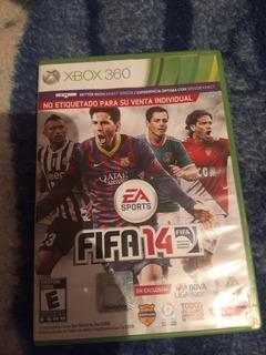 Videojuego Para La Consola Xbox 360 Fifa 14