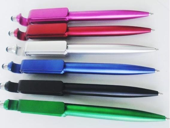 Kit 500 Canetas Touch Screen Suporte Para Celular E Tablet U