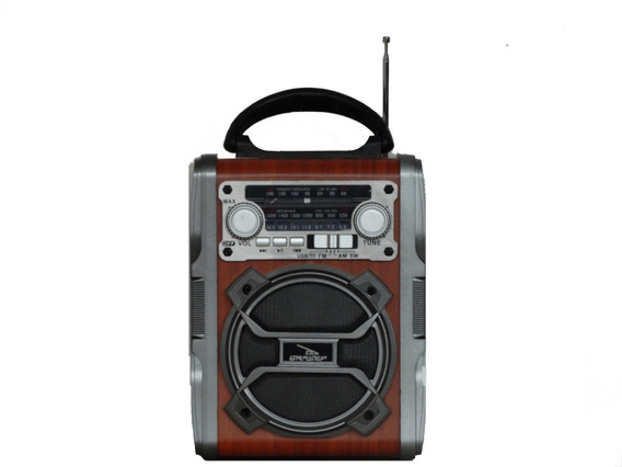 Rádio Portátil Bluetooth/am/fm/usb 8w Rms