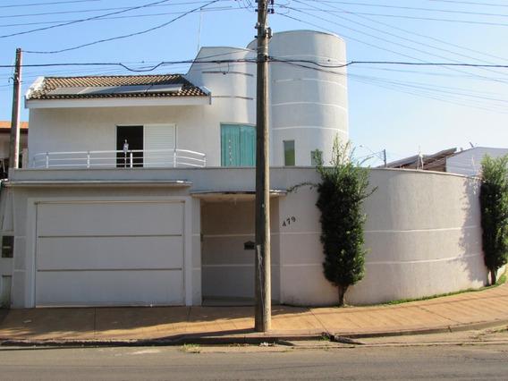 Casa À Venda, 3 Quartos, 4 Vagas, Parque Nova Carioba - Americana/sp - 17612