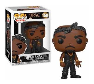 Funko Pop Tupac Shakur Con Chaleco Y Pañuelo - 2 Pac #158