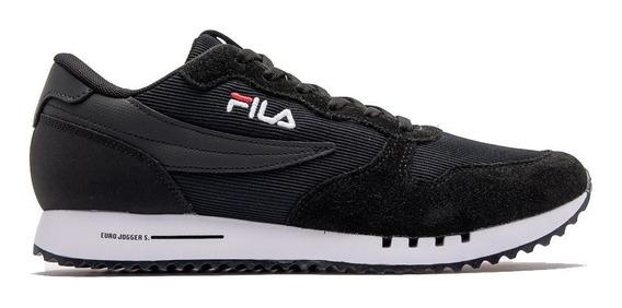 Zapatillas Fila Euro Jogger Sport Ss Neg/bla De Hombre