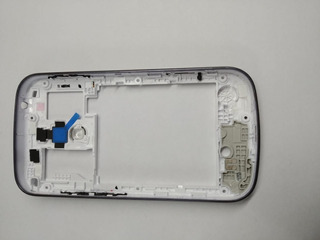Carcaça Traseira Galaxy S Duos S7562 Azul Sem Tampa