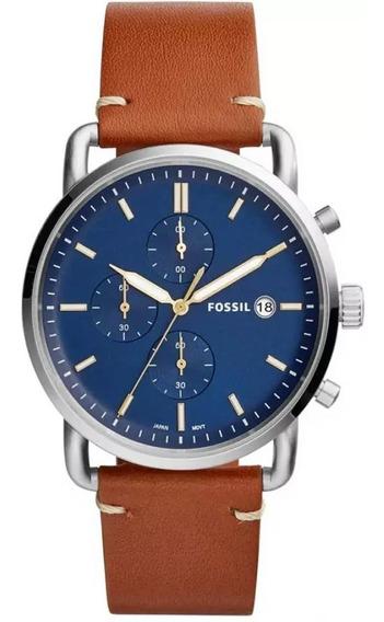 Relógio Fossil Masculino Commuter Fs5401/0mn