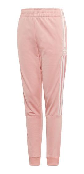 Pantalon adidas Originals Moda Lock Up Tp Niña Sa/bl