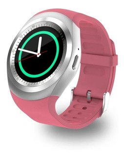 Relogio Inteligente Smartwatch Y1 C/ Chip Bluetooth Redondo