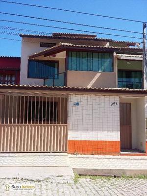 Casa Residencial Para Locação, Riviera Fluminense, Macaé. - Ca0078