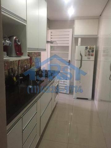 Apartamento Com 2 Dormitórios À Venda, 49 M² Por R$ 220.000 - Jardim São Luiz - Jandira/sp - Ap3260