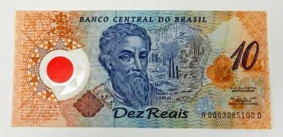 Relíquia, Nota De 10 Reais Comemoraçao 500 Anos Brasil Super