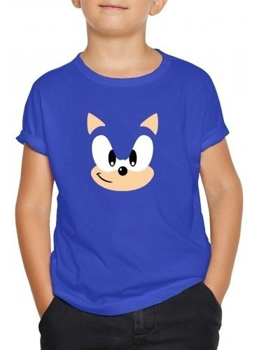 Playera Sonic The Hedgehog Niño Sega