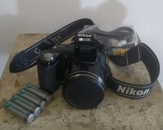 Câmera Digital Nikon Coolpix L110 Semiprofissional Novíssima