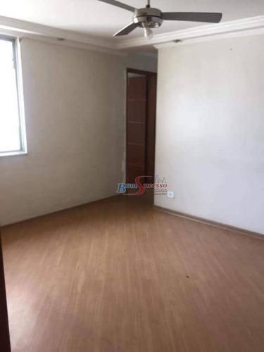 Imagem 1 de 6 de Apartamento Com 2 Dormitórios À Venda, 48 M² Por R$ 175.000,00 - Cidade São Mateus - São Paulo/sp - Ap2755