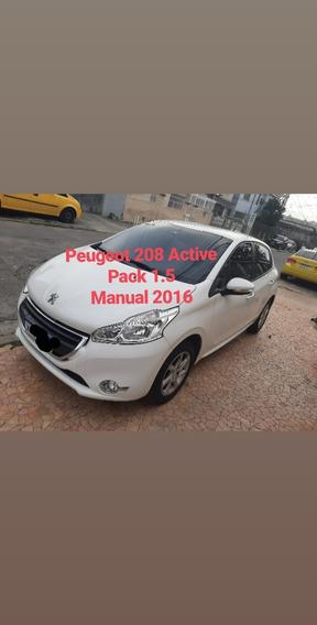 Peugeot 208 2016 Active Pack 1.5 Manual