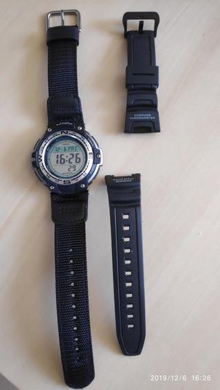 Relógio Casio Outgear Sgw-100 + Brinde (pulseira De Nylon)