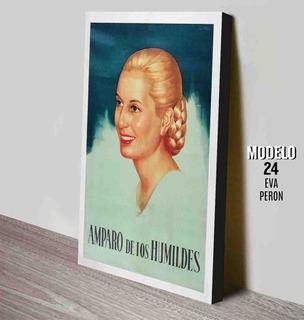 Cuadro De Eva Peron - Afiches Retro Vintage 33x48 Cm