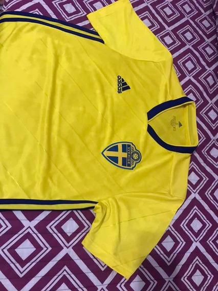Camiseta Y Short adidas Suecia Colores Boca S Usados Una Vez