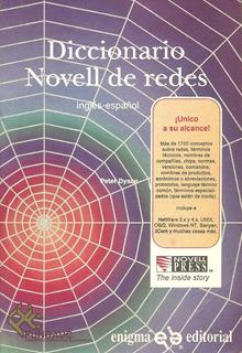Libro Diccionario Novell De Redes, Inglés-español, Enigma