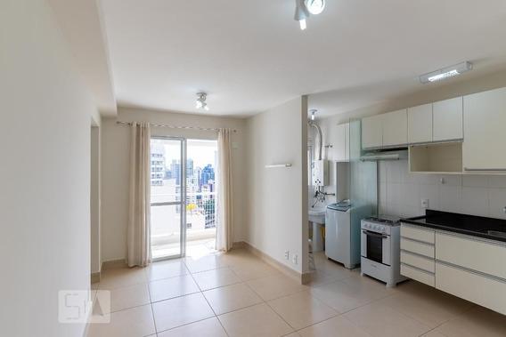Apartamento No 13º Andar Com 1 Dormitório E 1 Garagem - Id: 892955896 - 255896
