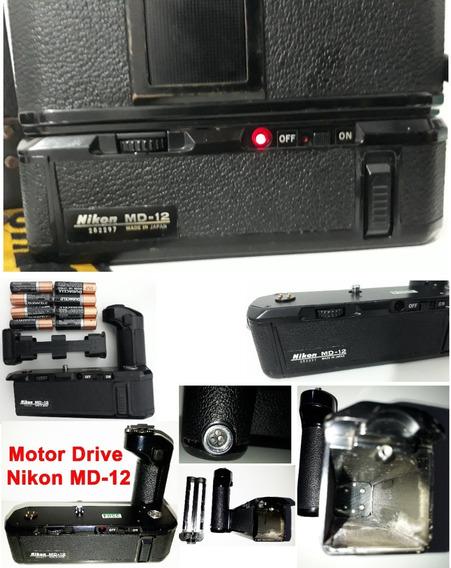 Motor Drive Profissional Nikon Md-12 ( F U N C I O N A N D O