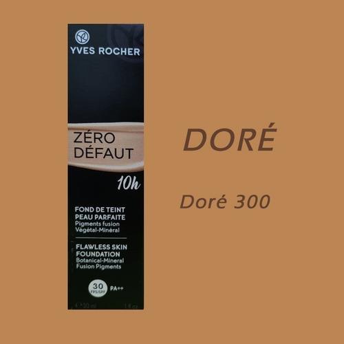 Imagen 1 de 3 de Maquillaje Zero Defaut 10hrs Spf30 Yves Rocher Varios Tonos