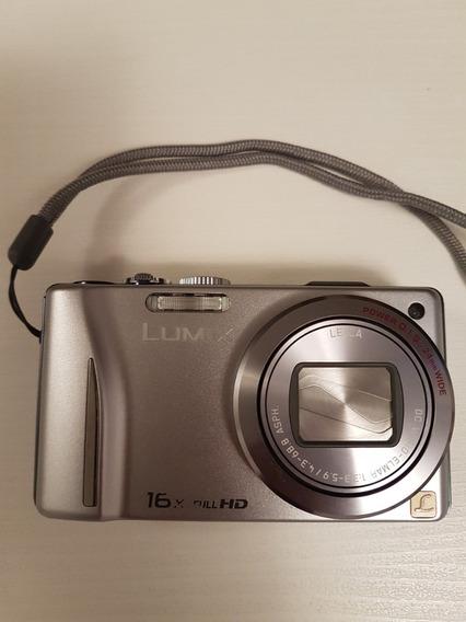 Camera Panasonic Lumix Dmc-zs10 16x 14mp Fullhd 32gb Bateria