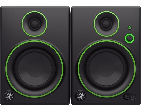 Monitor De Áudio Mackie Cr4 Bt Referência Estúdio Par 50w