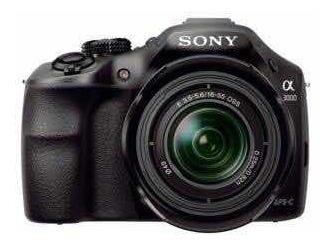 Câmera Sony A3000 + Flash + Cartão 64gb